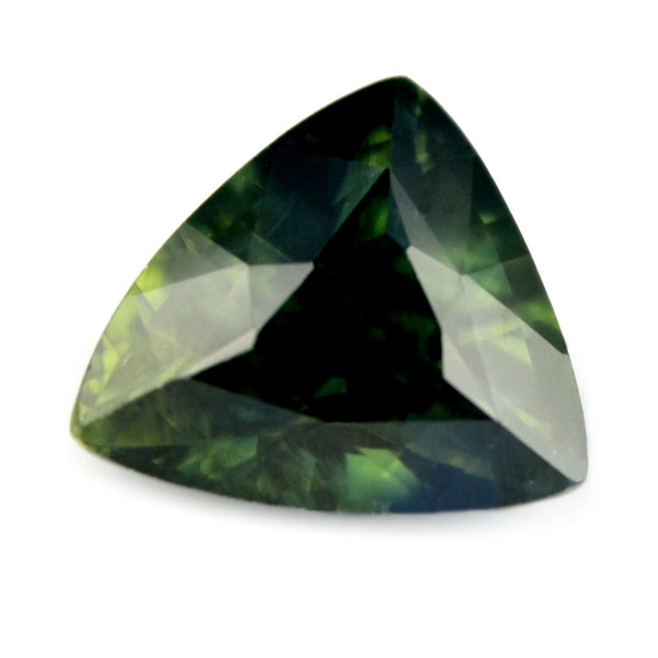 1.39 ct Certified Natural Green Sapphire