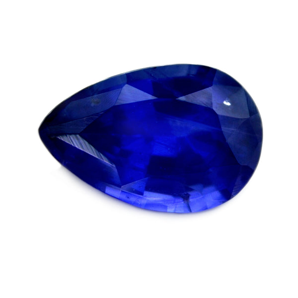0.81ct Certified Natural Blue Sapphire