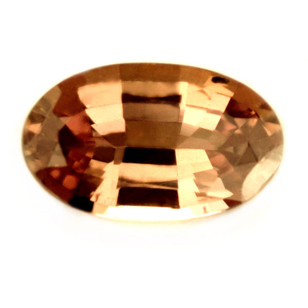 Certified Natural Unheated 0.87ct Peach Sapphire - sapphirebazaar - 1