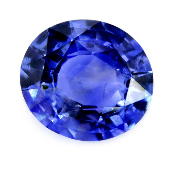 1.36ct Certified Natural Blue Sapphire