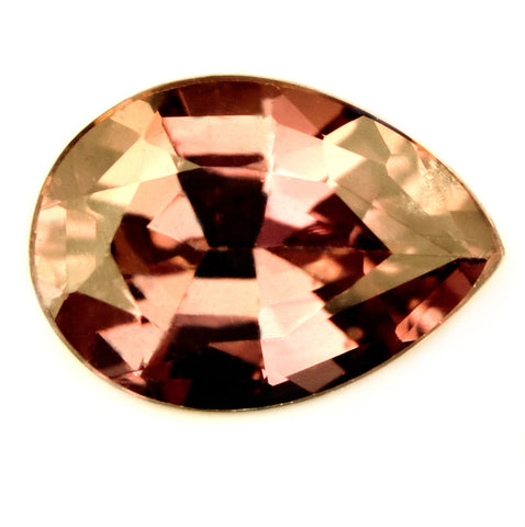 Certified Natural Unheated 0.71ct Peach Sapphire - sapphirebazaar - 1