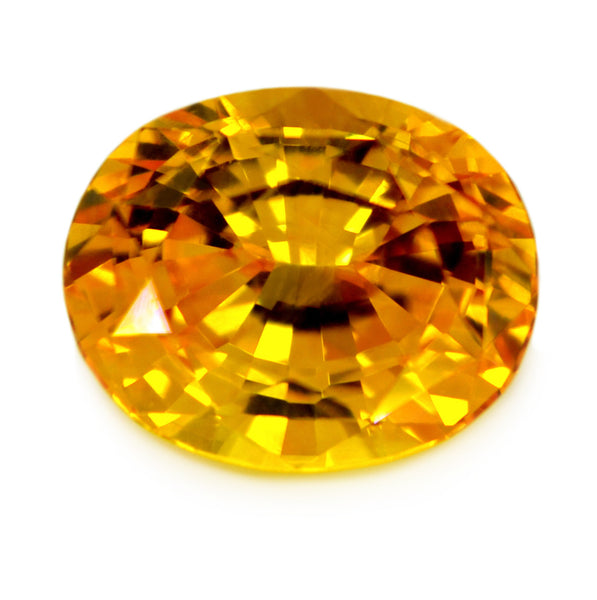 1.44 ct Certified Natural Yellow Sapphire