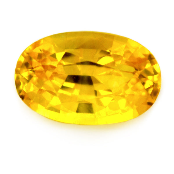 1.08 ct Certified Natural Yellow Sapphire