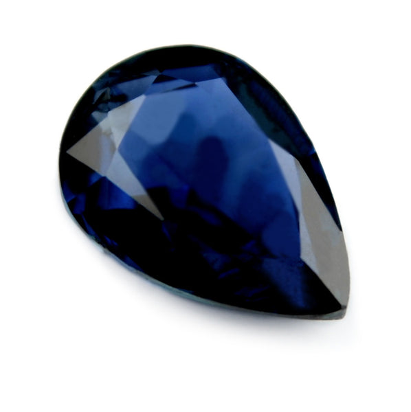 0.73 ct Certified Natural Blue Sapphire