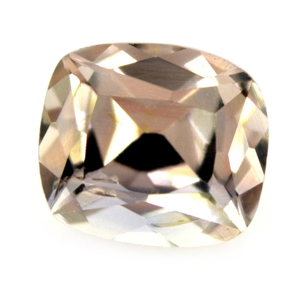 0.77ct Certified Natural Peach Sapphire