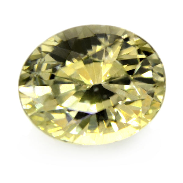 2.03ct Certified Natural Beige Sapphire