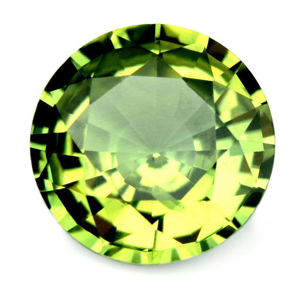1.18 ct Certified Natural Green Sapphire