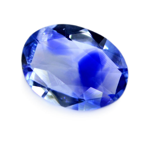0.63ct Certified Natural Blue Sapphire
