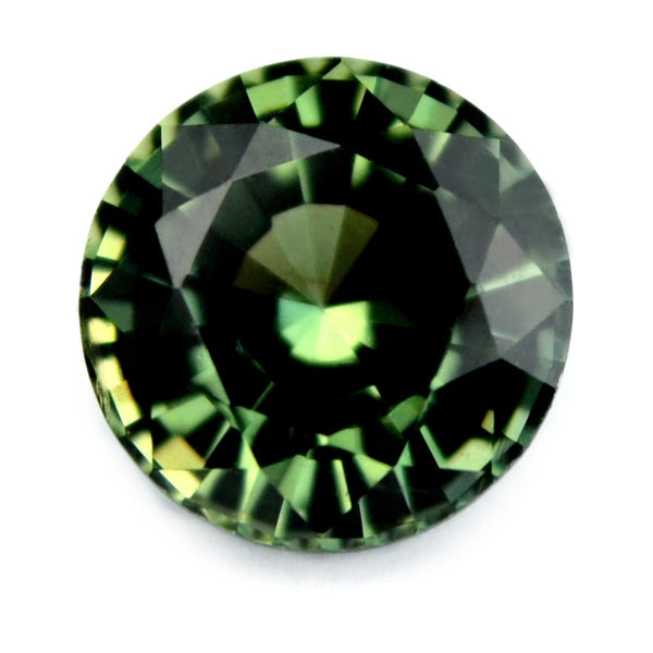 5.19 mm Certified Natural Green Sapphire - sapphirebazaar - 1