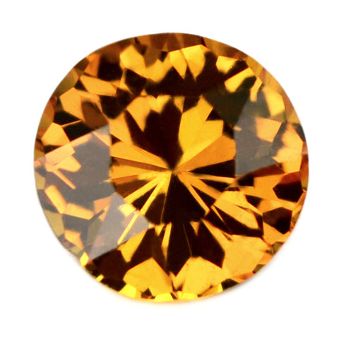 1.14 ct Certified Natural Orange Sapphire