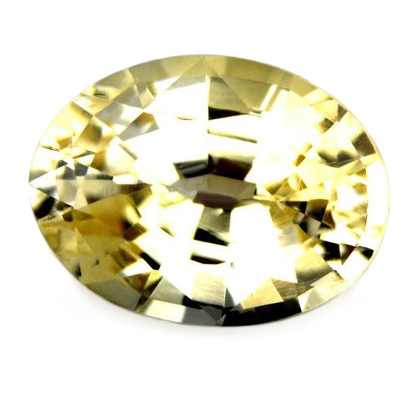 1.14ct Certified Natural Yellow Sapphire