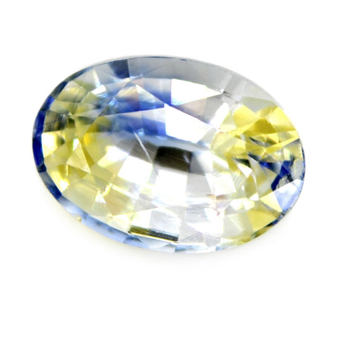 1.19ct Certified Natural Bicolor Sapphire
