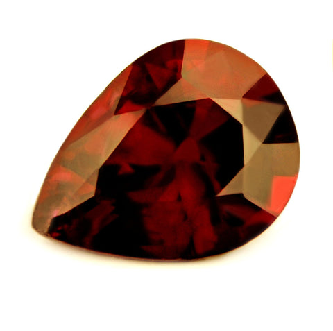 0.61ct Certified Natural Untreated Royal Red Ruby - sapphirebazaar - 1