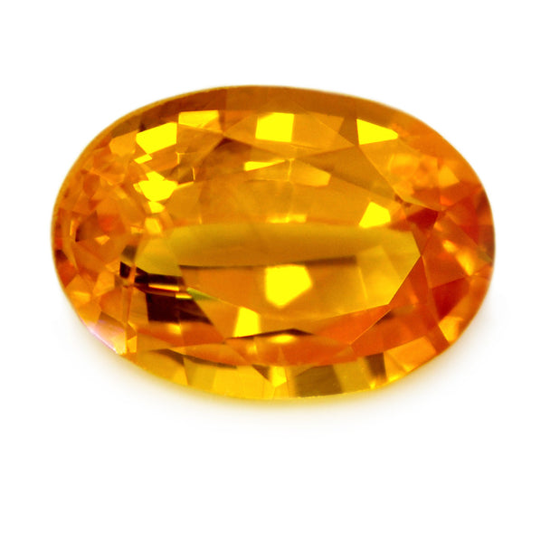 1.00 ct Certified Natural Yellow Sapphire