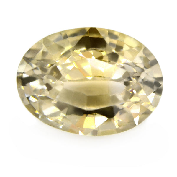 1.70ct Certified Natural Yellow Sapphire