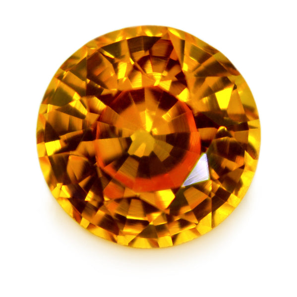 1.22 ct Certified Natural Yellow Sapphire