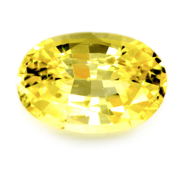 1.05 ct Certified Natural Yellow Sapphire