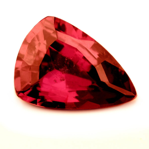 Beautiful Certified Natural 1.19ct Unheated Ruby, Trillion Cut - sapphirebazaar - 1