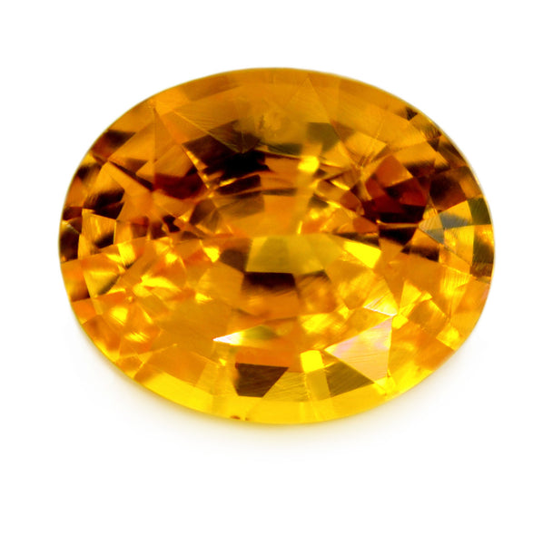 1.46 ct Certified Natural Yellow Sapphire