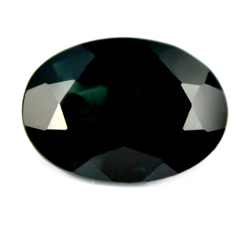 5.25 ct Certified Natural Green Sapphire
