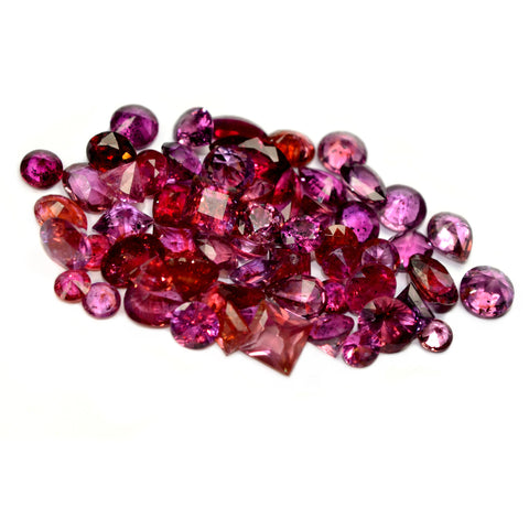 19.0ct Certified Natural Red Ruby Parcel