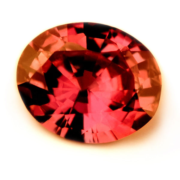 Certified Natural Untreated 0.37ct Ruby Oval Cut, VVS Clarity - sapphirebazaar - 1