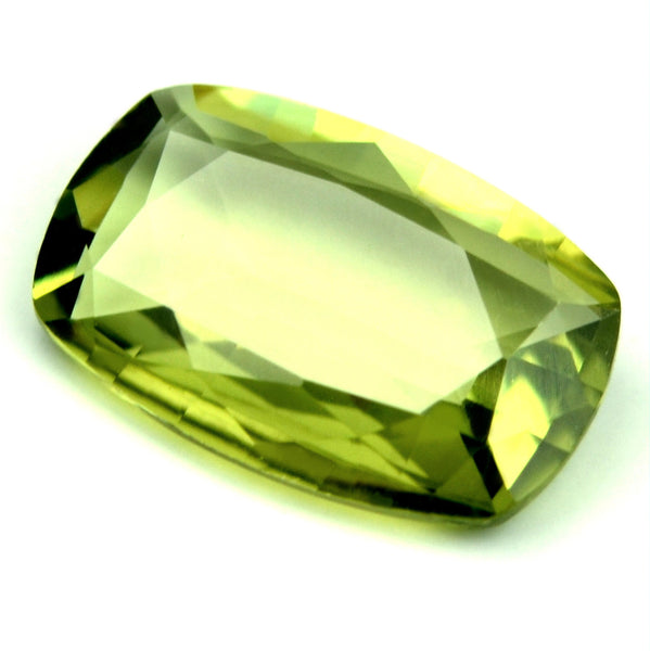 Certified Natural 1.03ct Green Sapphire IF Clarity - sapphirebazaar - 1