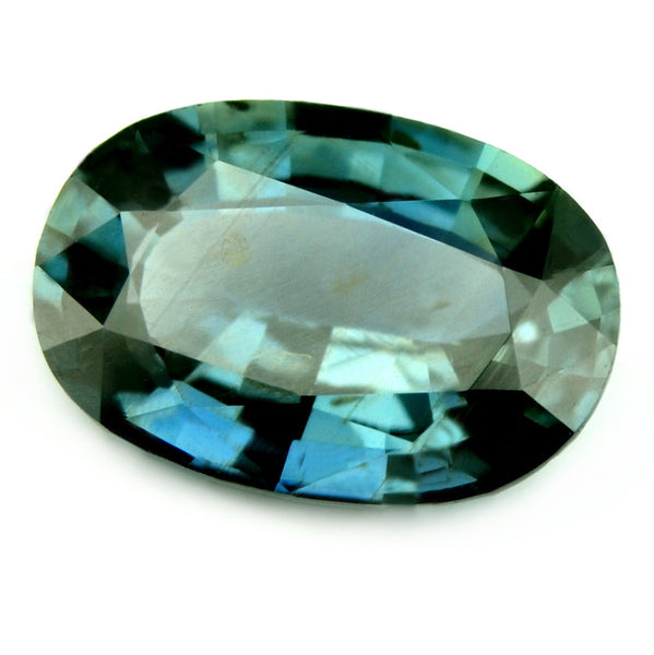 Certified Natural Unheated 0.99ct Blue Sapphire - sapphirebazaar - 1