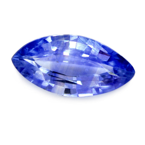0.79ct Certified Natural Blue Sapphire
