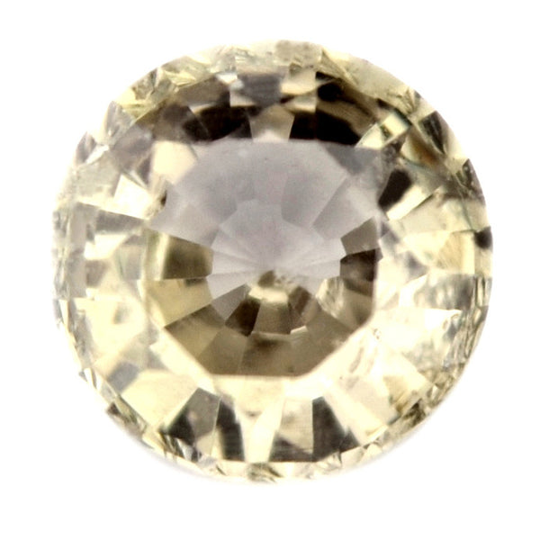 0.51 ct Certified Natural Yellow Sapphire