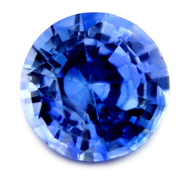 4.30 mm Certified Natural Blue Sapphire - sapphirebazaar - 1