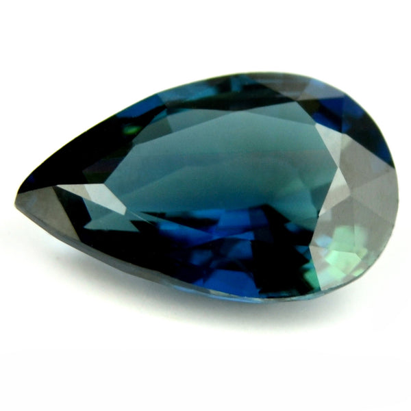 Flawless Certified Natural Unheated Blue Sapphire - sapphirebazaar - 1