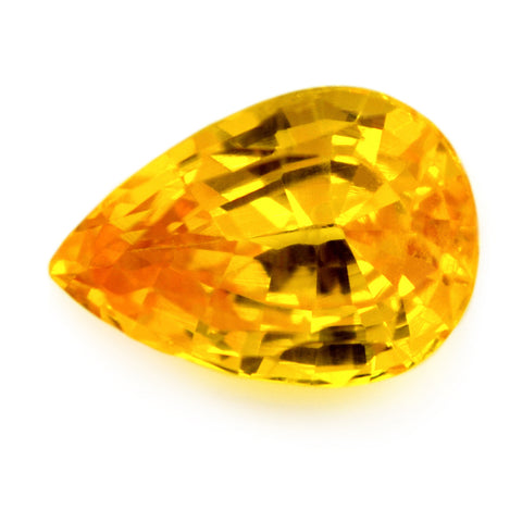 1.06 ct Certified Natural Yellow Sapphire