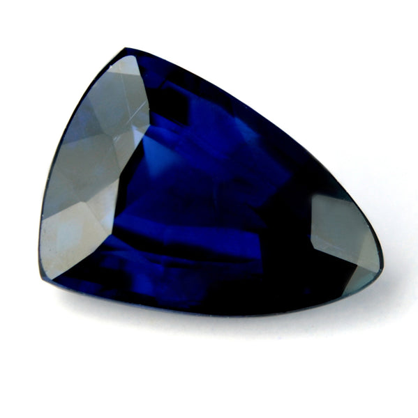 Certified Natural 1.48ct Unheated Royal Blue Sapphire, VVS Clarity - sapphirebazaar - 1