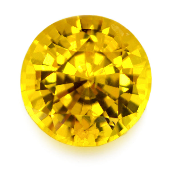 1.19 ct Certified Natural Yellow Sapphire