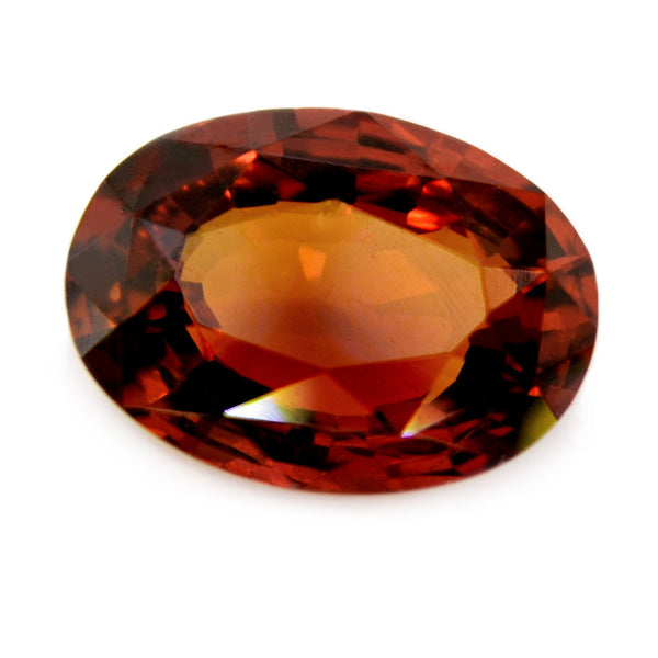 1.59 ct Certified Natural Orange Sapphire