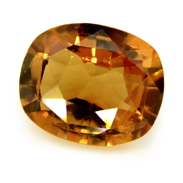 1.72 ct Certified Natural Champagne Sapphire