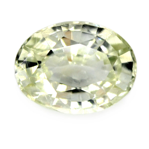 1.17ct Certified Natural White Sapphire