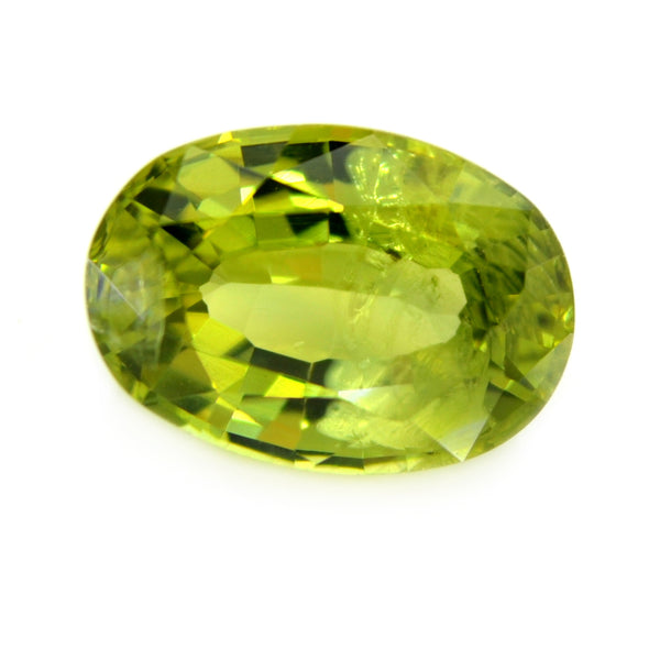 1.62ct Certified Natural Green Sapphire