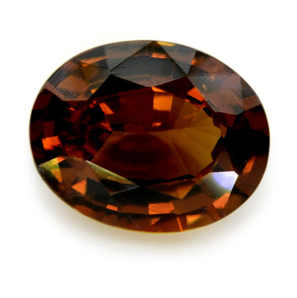 1.13 ct Certified Natural Brown Sapphire