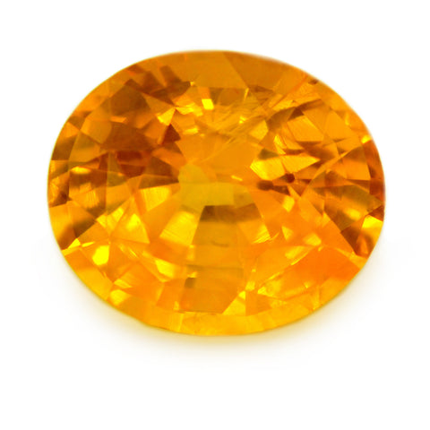 2.24 ct Certified Natural Yellow Sapphire