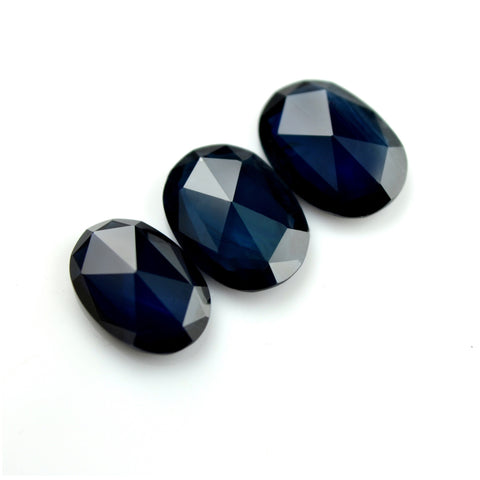 2.23 ct Certified Natural Blue Sapphire Set