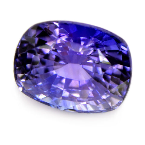 1.40ct Certified Natural Purple Sapphire