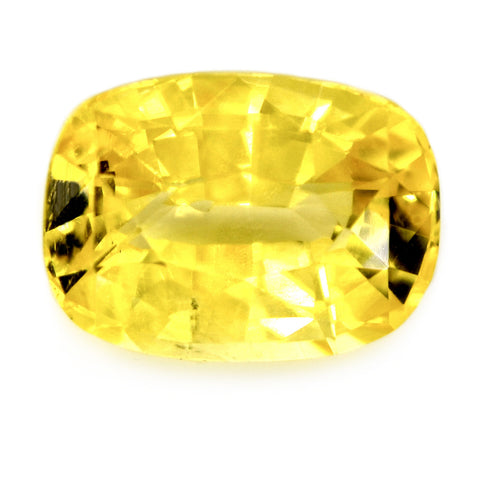 1.40 ct Certified Natural Yellow Sapphire