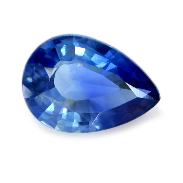0.83ct Certified Natural Blue sapphire