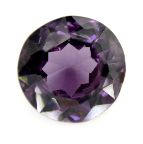 2.64ct Certified Natural Purple Spinel