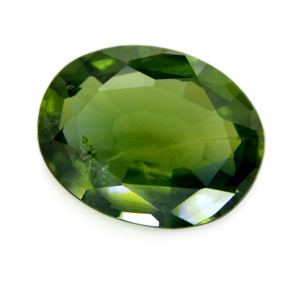 2.01ct Certified Natural Green Sapphire
