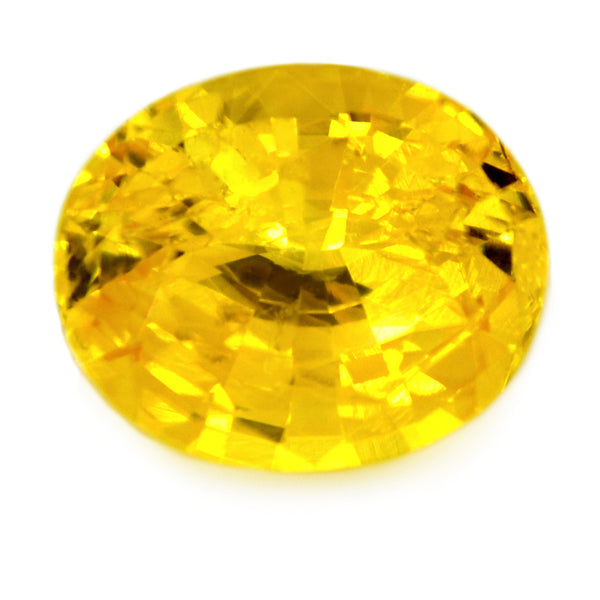 1.74 ct Certified Natural Yellow Sapphire