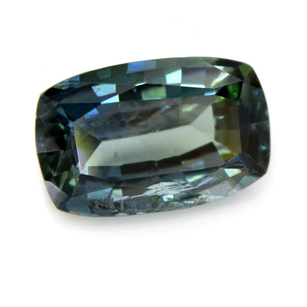 0.80ct Certified Natural Teal Sapphire