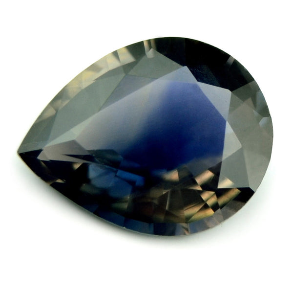 Certified Natural Unheated 0.76ct Bi-Color Sapphire - sapphirebazaar - 1